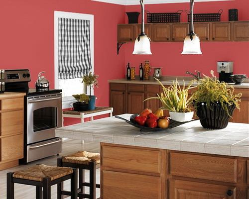 Findet ihr, diese Wandfarbe für die Küche wirkt weiblich?