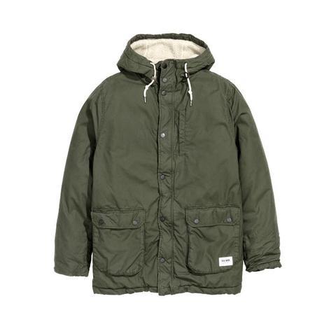 Olivgrün  - (Mode, Style, Winter)