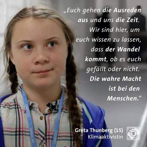 Findet ihr Greta hat Recht?