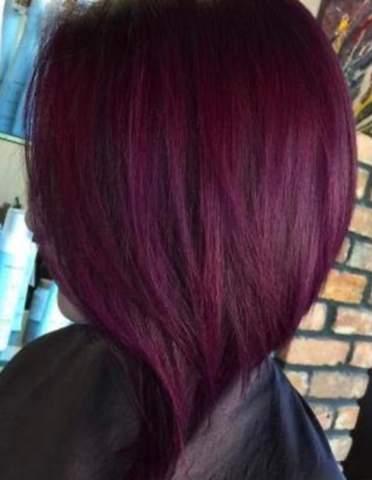 Findet ihr lila rote Haare (bunte) sexy?
