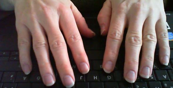 meine Hände - (Hand, Fingernägel)