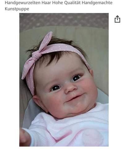 Findet ihr realistische Baby Puppen gruselig (siehe Bild)?