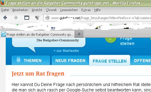tab-leiste - (PC, Internet, Browser)