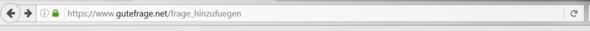 An den Beiden Pfeilen ist die unschärfe an den Kanten zu erkennen - (Internet, Browser, Firefox)