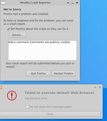 Firefox-Bug im Ubuntu-WSL?
