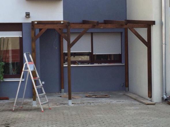 Terassenüberdachungsgerüst - (Garten, Firma, Terrasse)