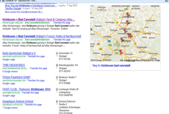 Google - (Google, Boxen, Verein)