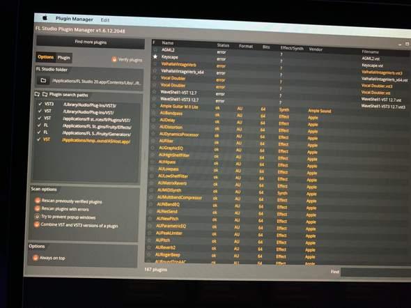Fl-Studio erkennt VST Plugins nicht (Mac)?