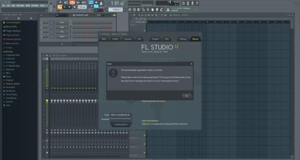 fl studio fehler - (FL Studio, Musiksoftware)