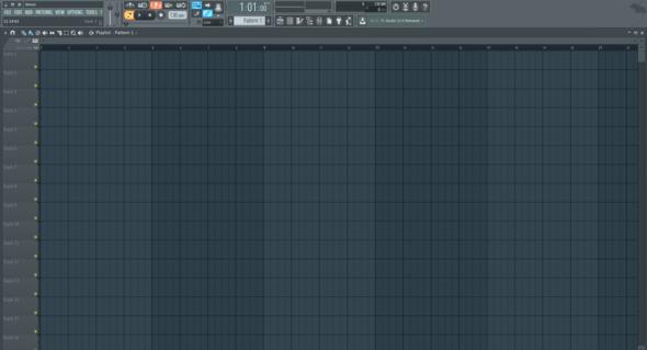 Pattern - (FL Studio, fl studio 12, Fruity Studio 12)