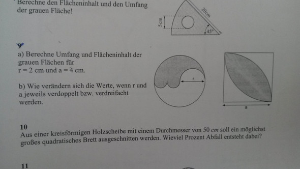 Schön Fläche Eines Kreises Berechnen?