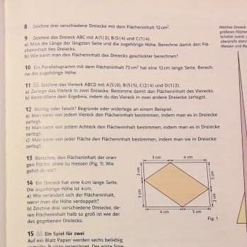 Buchseite - (Schule, Mathe, Dreieck)