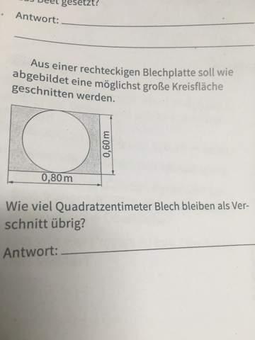 Flächeninhalt oder Umfang?