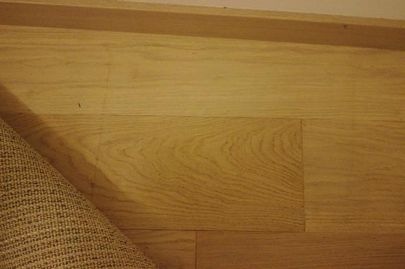 Fußboden Putzen ~ Fleck am boden wie entfernen? reinigung heimwerken putzen