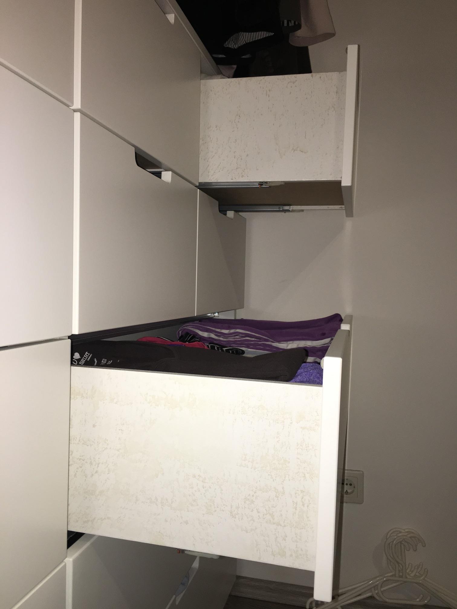 Flecken auf neuen Schränken nach ein paar Monaten? (Schimmel, IKEA ...