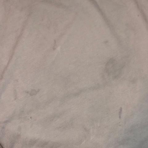 Auf braune nach flecken waschen wäsche weißer dem Bügeleisen braune