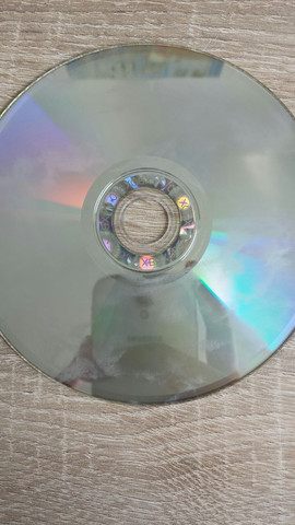 Die CD und die Flecken - (Spiele, Xbox 360, CD)