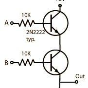 Die angebliche UND Schaltung  - (Elektronik, Strom, Elektrotechnik)