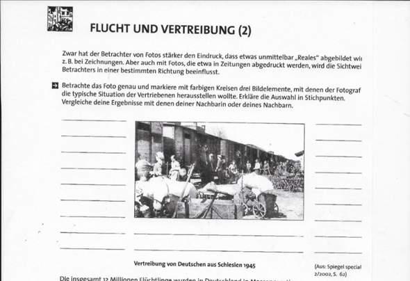 Flucht und Vertreibung - Welche typische Situation der Vertriebenen gibt es?