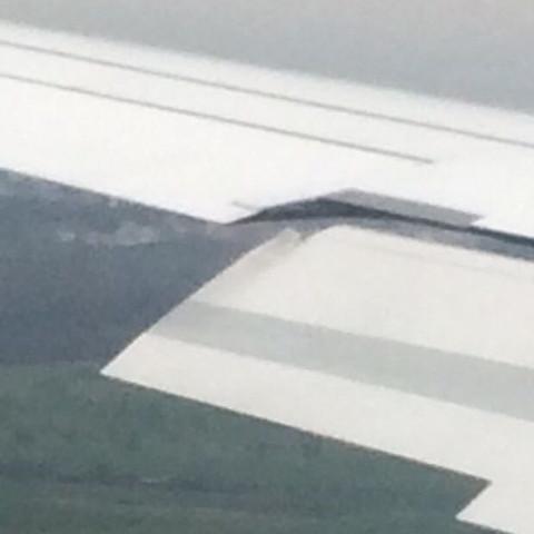 Störklappen - (Flugzeug, Flug, Lufthansa)