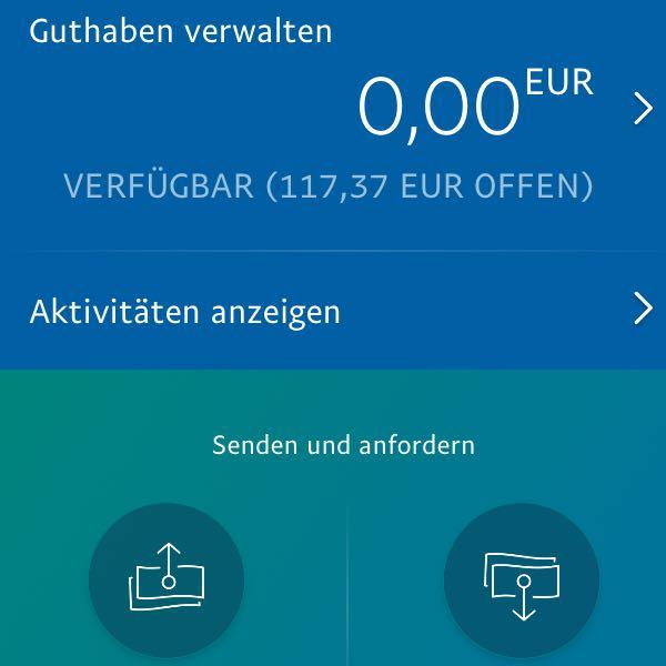 Paypal Guthaben Wird Nicht Angezeigt