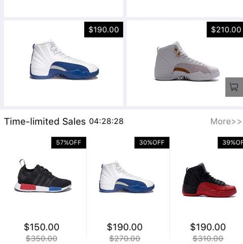 1. Bild zweiter Teil: weitere reduzierte Sneaker - (Apple, Schuhe, App)