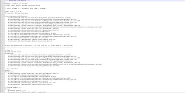 Erstes Bild vom Crashreport - (Computer, PC, Technik)