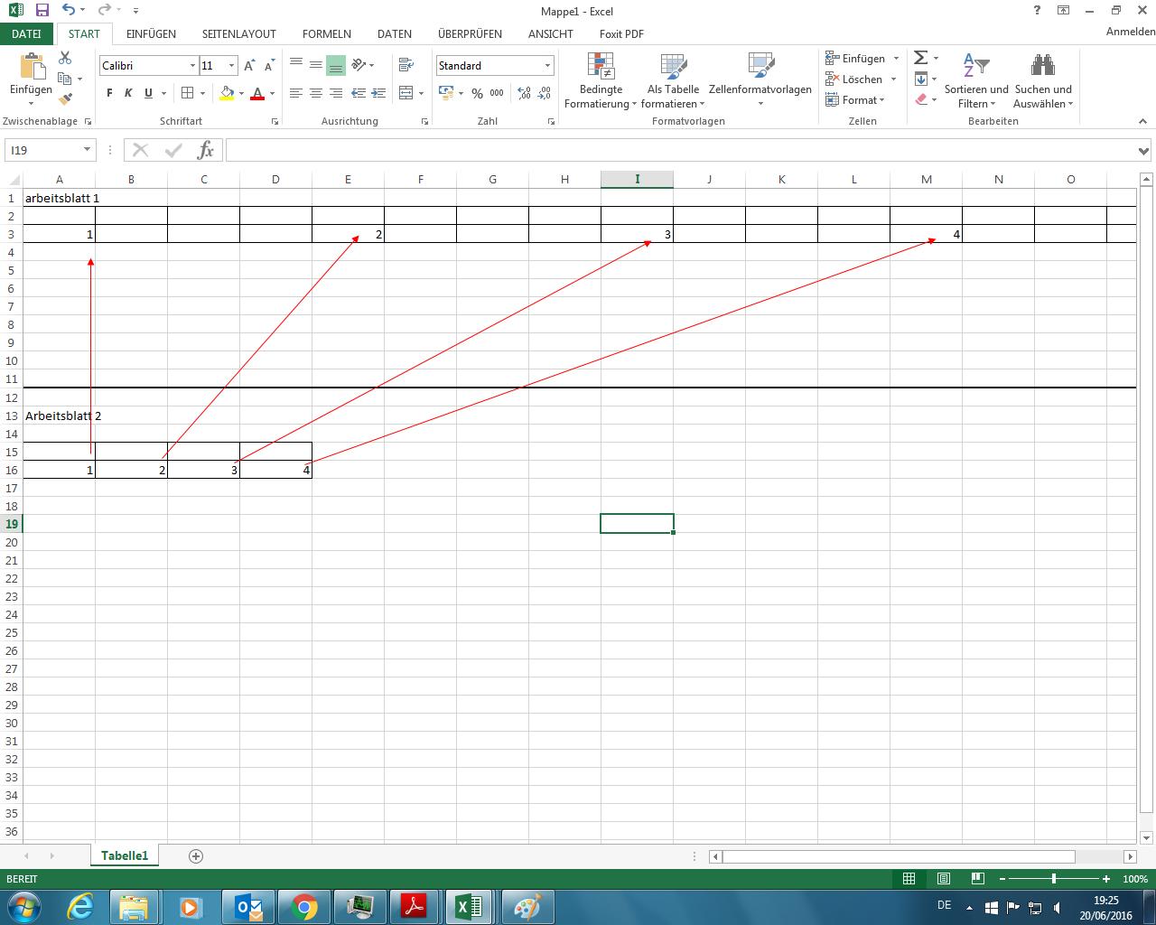 Formel in Excel nur in jede vierte Spalte übernehmen?