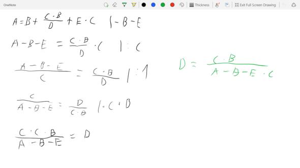 Rechnung - (Schule, Mathe, Formel)