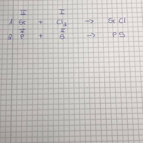 Formelgleichung (Chemie) erstellen? (Schule)