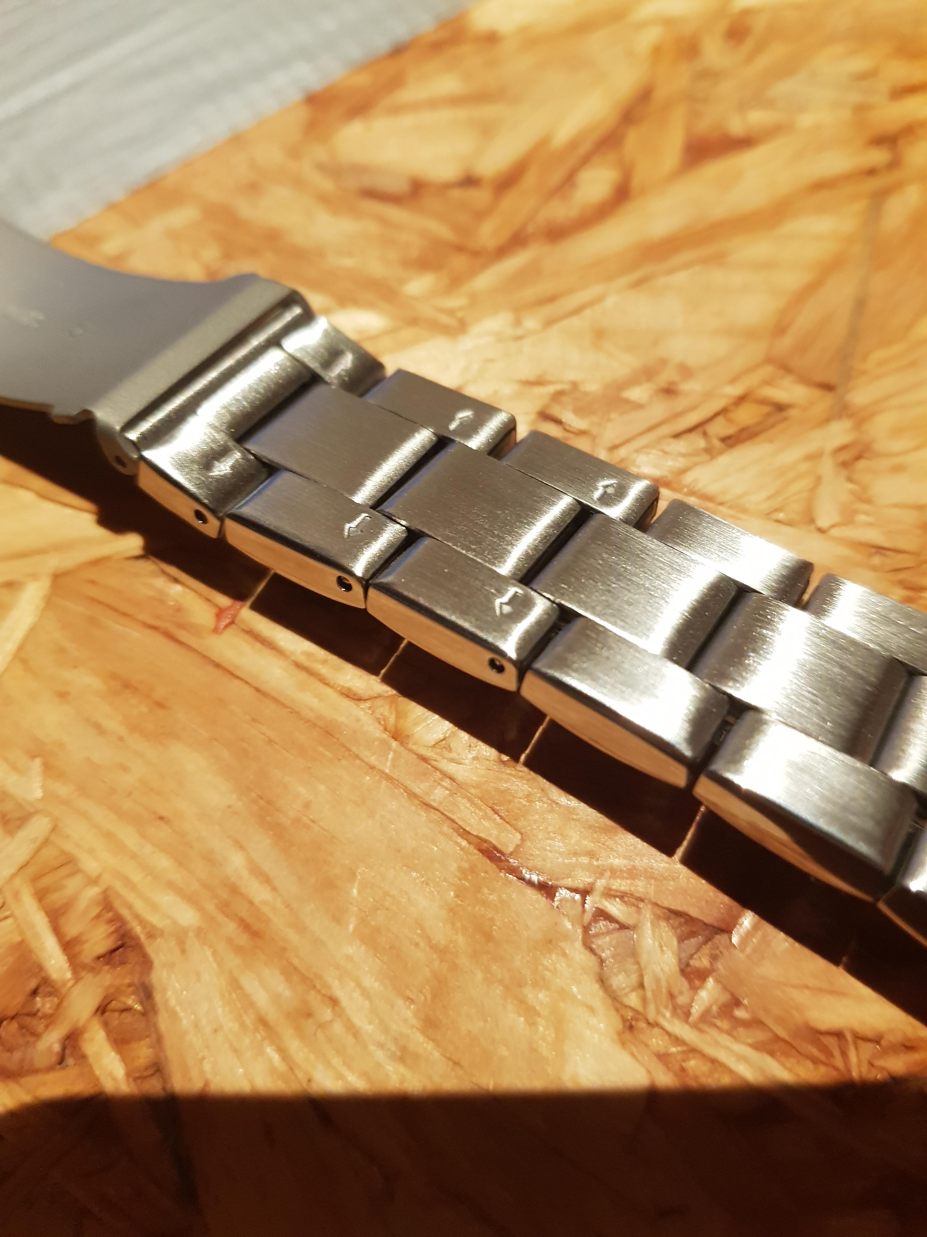 fossil uhr armband stift