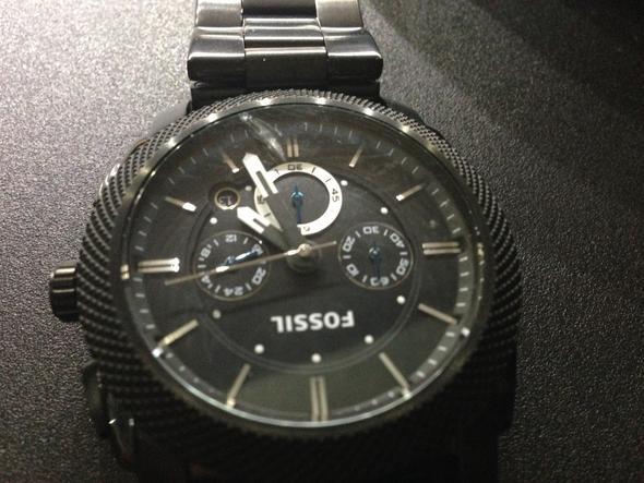 Uhr 2 - (Uhr, Armbanduhr, Fossil)