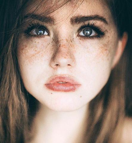 Nahportrait 1 - (Fotografie, Einstellungen, Photoshop)