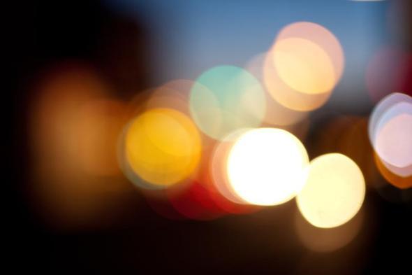 Fotografie: verschwommene Lichter (Licht, verschwommen)