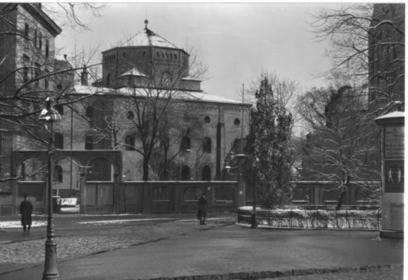 Dresdener Synagoge 1910 - (Geschichte, Fotografie, Bildbearbeitung)