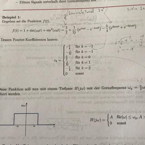 Beispiel - (Mathematik, Physik, Fouriertransformation)