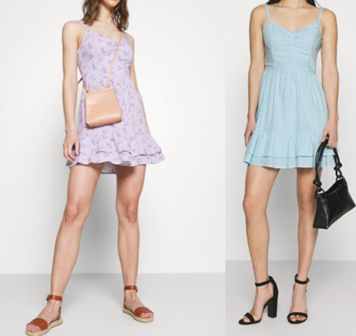 Question to the ladies from 25 years: Do you carry such short summer dresses in
