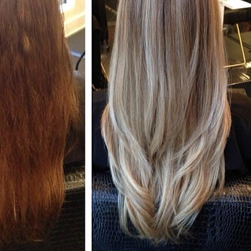 Haare hellblond farben ohne gelbstich