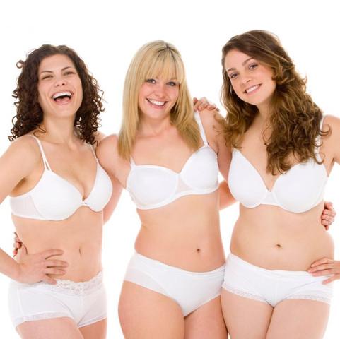 Mollige Frauenkörper - (abnehmen, Magersucht, schlank)