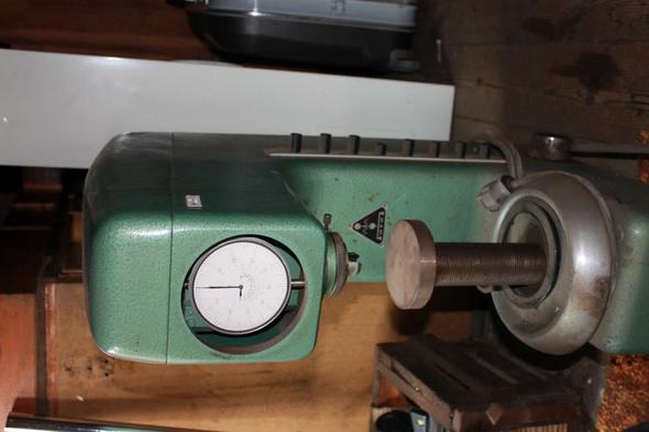 Front - (DDR, Maschinenbau, Prüfgerät)
