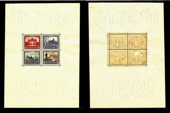 Iposta 1930 - (Brief, Marke, Briefmarken)