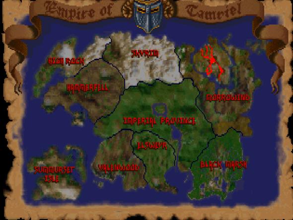 Tamriel - (the-elder-scrolls, Region, Tamriel)