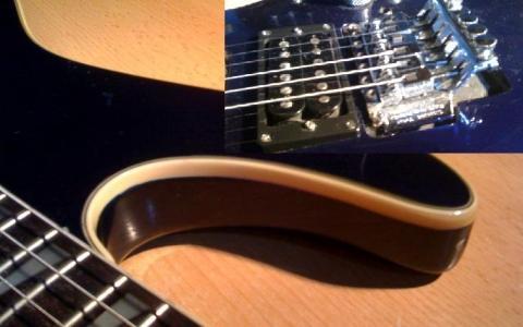 Frage zu E-Gitarre Umbau! Floyd Rose wird fester Steg, neue ...