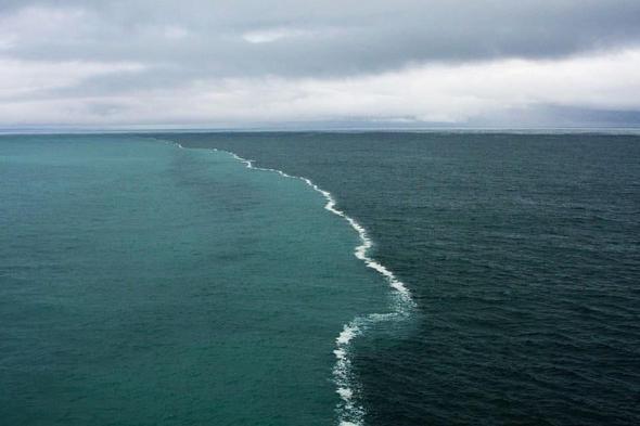 Atlantik Pazifik Aufeinandertreffen