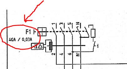 FI-Schalter Bild - (Elektronik, Strom, Elektrotechnik)