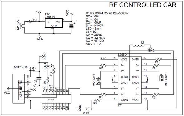 Frage zu RC-Auto-Schaltplan - könnt Ihr mir helfen? (Technik ...