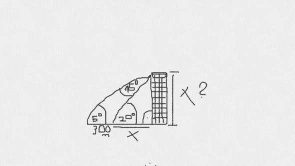 frage zu der zeichnung - (Mathe, Dreieck, sin cos tan)