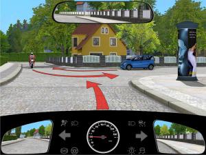Wieso darf der blaue PKW zuerst fahren? - (Führerschein, Theorie, vorfahrt)