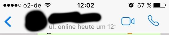 Mit Zeit  - (Handy, WhatsApp)