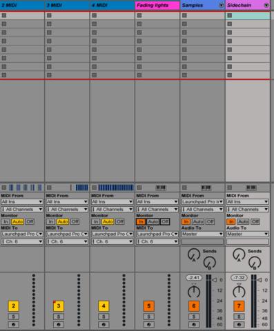 MIDI-Spuren - (Musik, Programm, Elektrik)